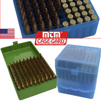 Коробка для 100 нарезных патронов MTM 100 Rifle Ammo Box Series