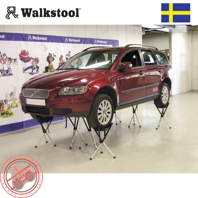 WalkStool Comfort держит volvo