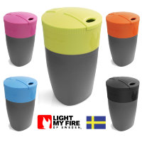 Складная кружка-непроливайка Light My Fire Pack Up Cup