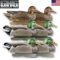 Плавающие чучела уток GreenHead Hunter Series Life Size - Mallards
