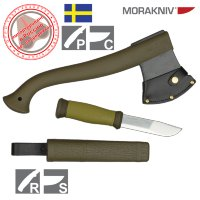 Набор Mora Outdoor Combi 2001 Axe & Knife (топор-нож)