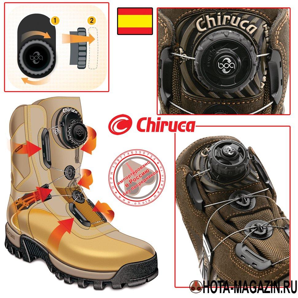 8383c737 Купить Охотничьи ботинки CHIRUCA Bulldog Boa по выгодной цене ...